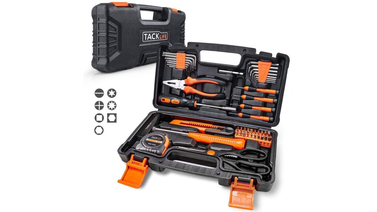 Caja de herramientas Tacklife barata, herramientas baratas, ofertas bricolaje, chollo