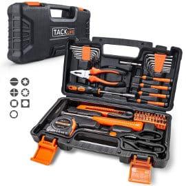 Caja de herramientas Tacklife barata, herramientas baratas, ofertas bricolaje