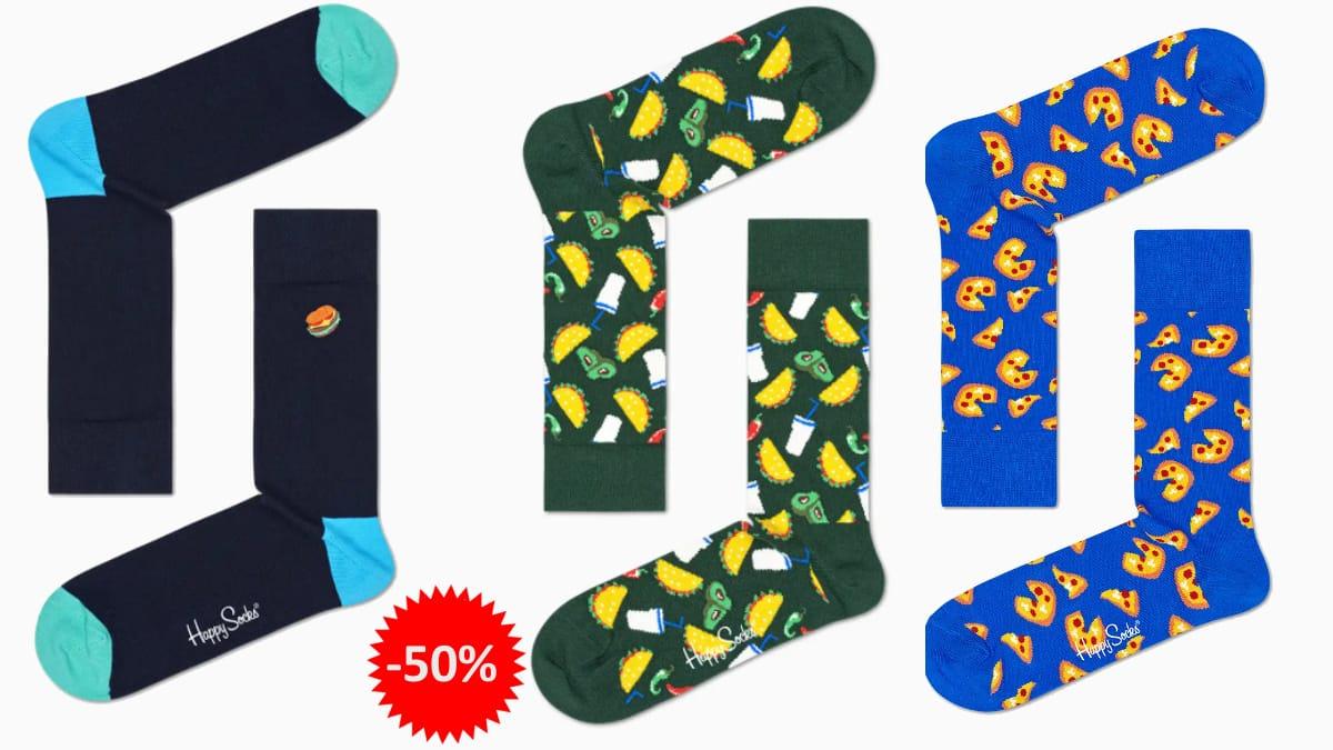 Calcetines Junk Food baratos, calcetines de marca baratos, ofertas en ropa, chollo