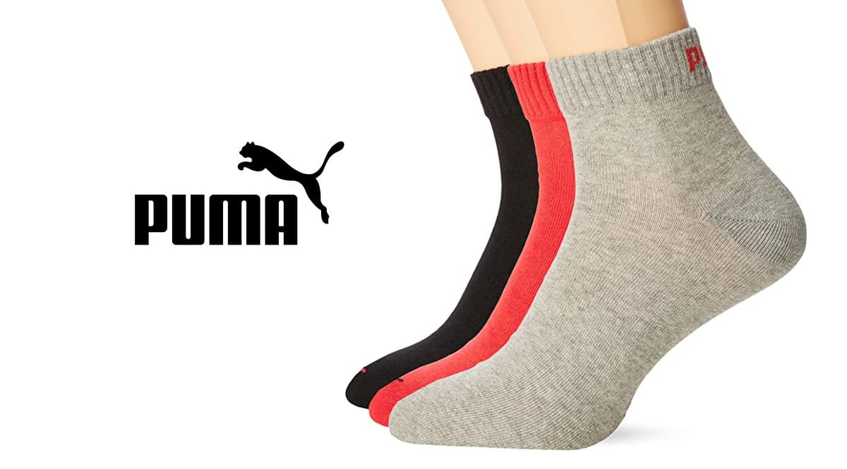 Calcetines Puma Quarter Plain baratos. Ofertas en ropa, ropa de marca barata, chollo