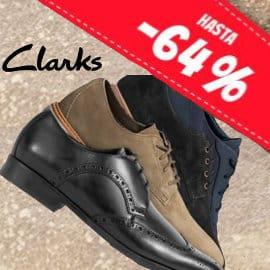 Calzado Clarks hombre barato, calzado de marca barato, ofertas en calzado