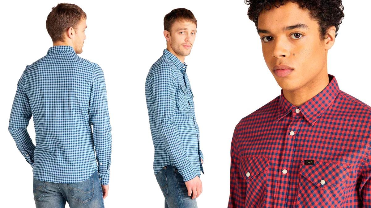 Camisa Lee Western Clean barata, ropa de marca barata, ofertas en camisas chollo