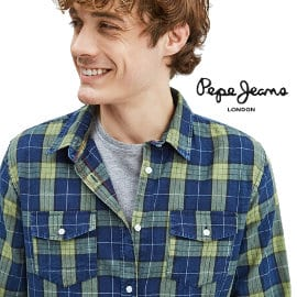Camisa Pepe Jeans Camerton barata, ropa de marca barata, ofertas en camisas