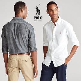 Camisa Polo Ralph Lauren de cambray barata, ropa de marca barata, ofertas en camisas