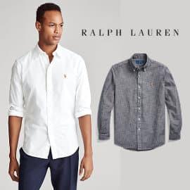 Camisa Polo Ralph Lauren de cambray barata, ropa de marca barata, ofertas en camisas1