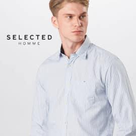 Camisa Selected Homme Tyler barata, ropa de marca barata, ofertas en camisas