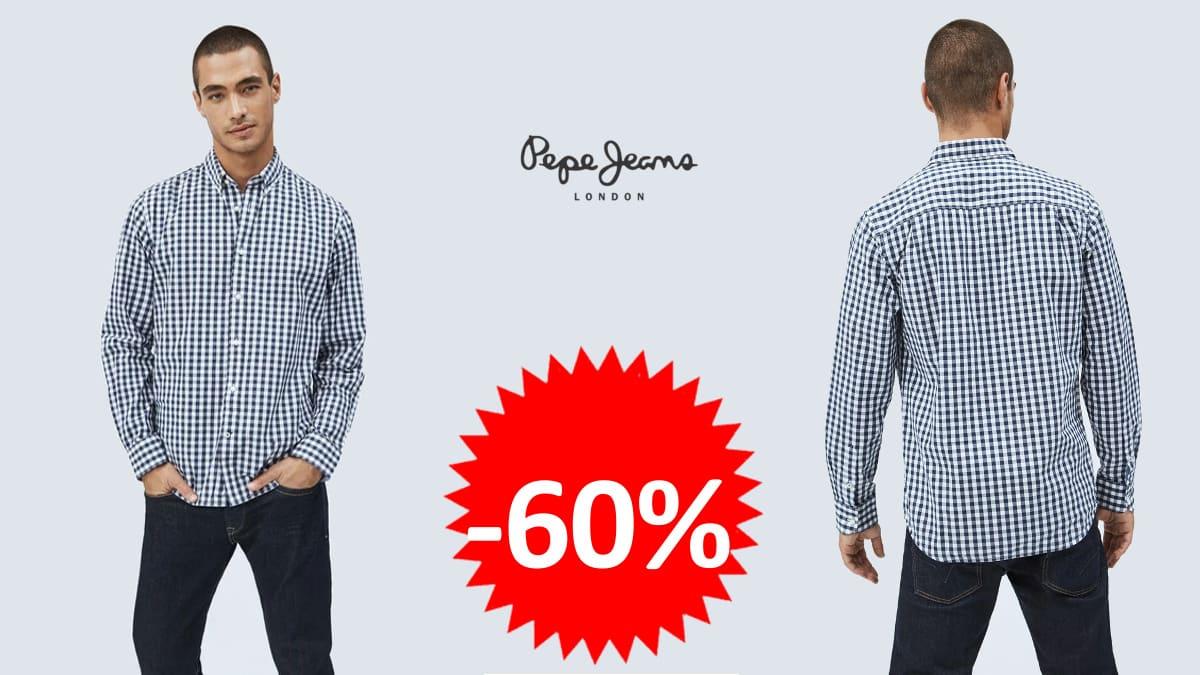 Camisa-de-cuadros-Pepe-Jeans-Ealing-barata-camisas-de-marca-baratas-ofertas-en-ropa-chollo-1