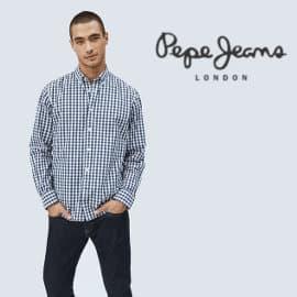 Camisa de cuadros Pepe Jeans Ealing barata, camisas de marca baratas, ofertas en ropa