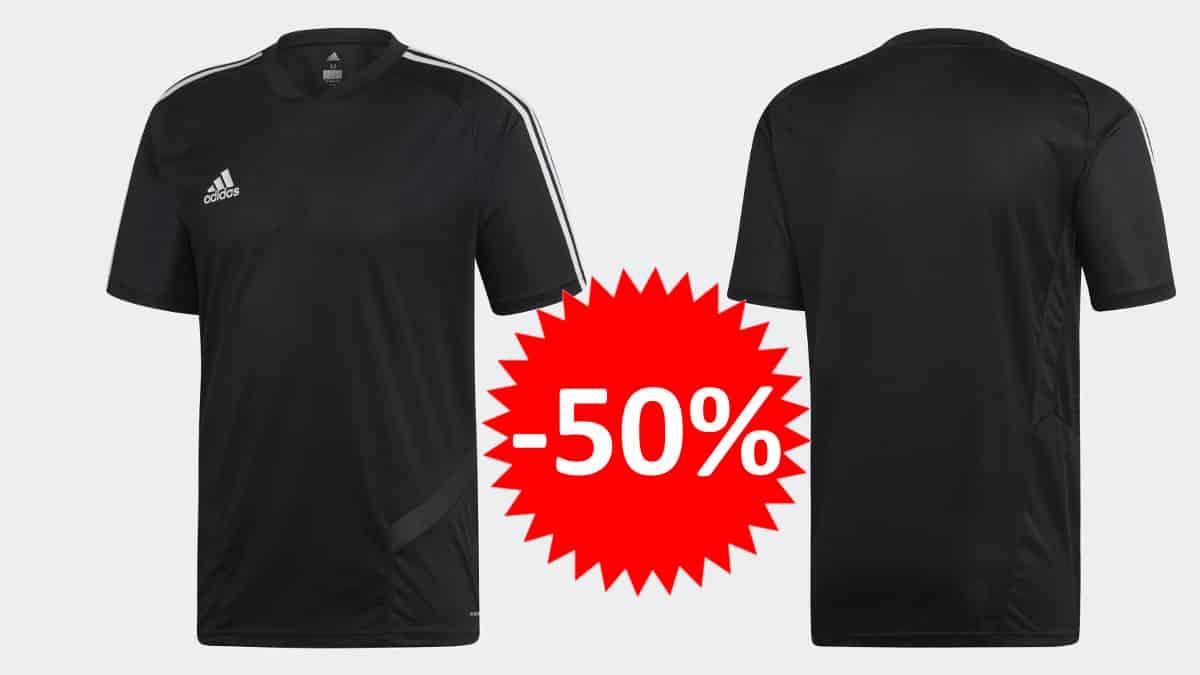 Camiseta Adidas Tiro 19 barata. Ofertas en ropa de marca, ropa de marca barata, chollo