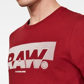 Camiseta G-Star Raw Graphic Slim barata, ropa de marca barata, ofertas en camisetas