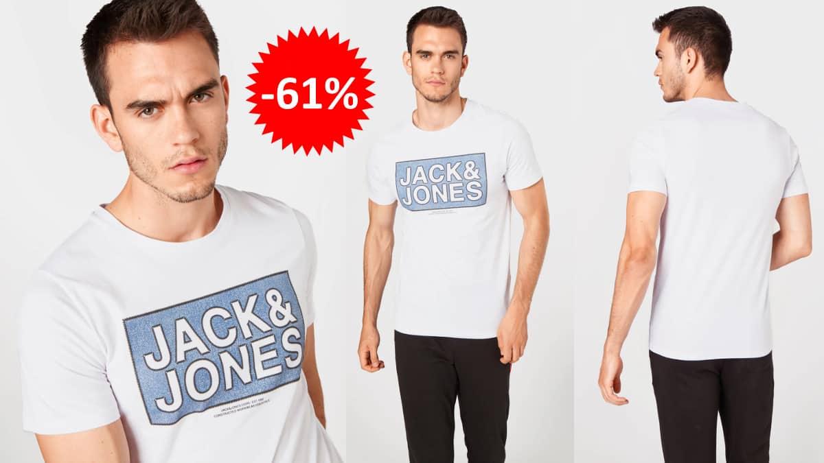 Camiseta Jack & Jones Tube barata, ropa de marca barata, ofertas en camisetas chollo