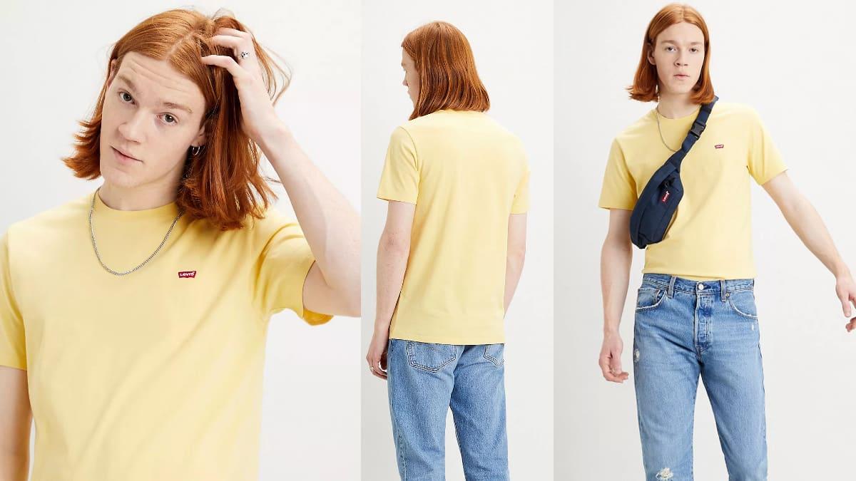 Camiseta Levi's Original Housemark barata, ropa de marca barata, ofertas en camisetas chollo