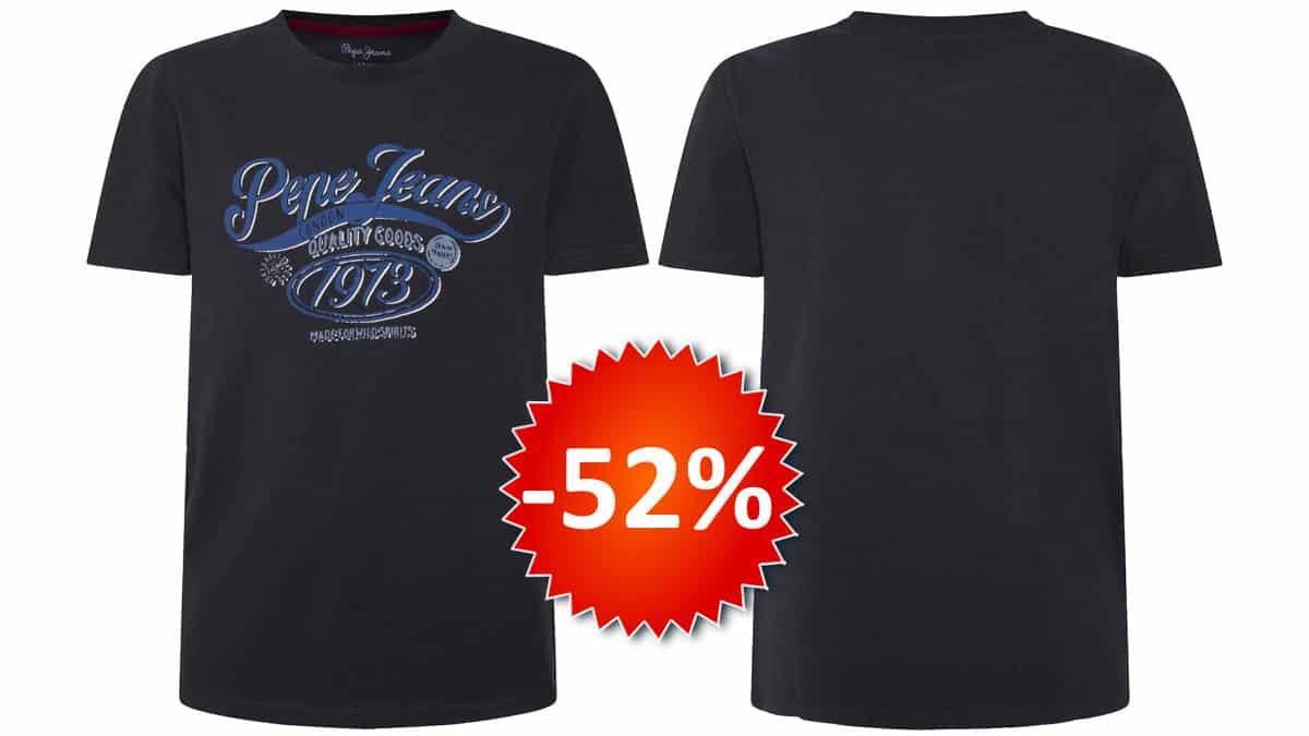 Camiseta para niños Pepe Jeans Oskar barata, ropa de marca barata, chollo