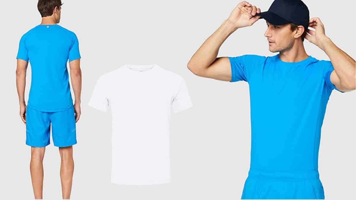 Camiseta técnica care of Puma barata, camisetas deporte de marca baratas, ofertas en ropa, chollo