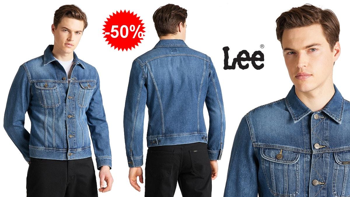 Cazadora vaquera Lee Slim Rider barata, cazadoras de marca baratas, ofertas en ropa, chollo