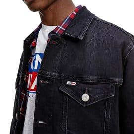 Cazadora vaquera Tommy Jeans barata, ropa de marca barata, ofertas en chaquetas