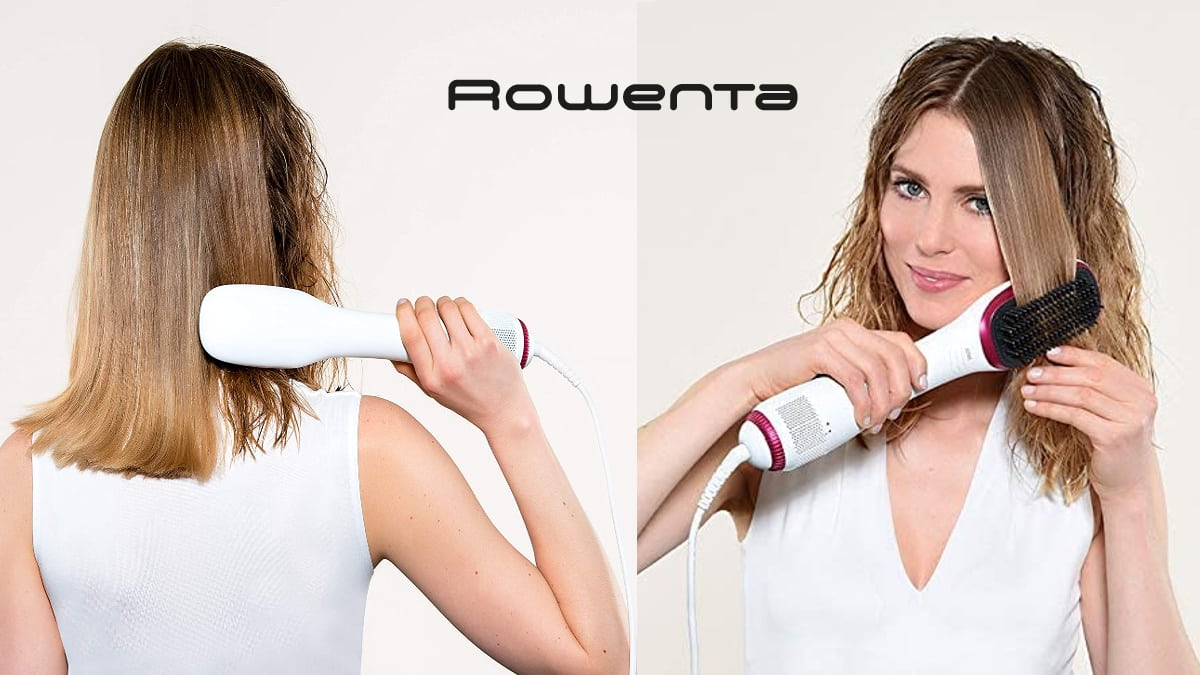 Cepillo alisador Rowenta CF6220F0 barato, cepillos de marca baratos, ofertas belleza, chollo