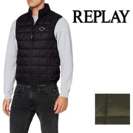 Chaleco Replay barato, chalecos de marca baratos, ofertas en ropa de marca