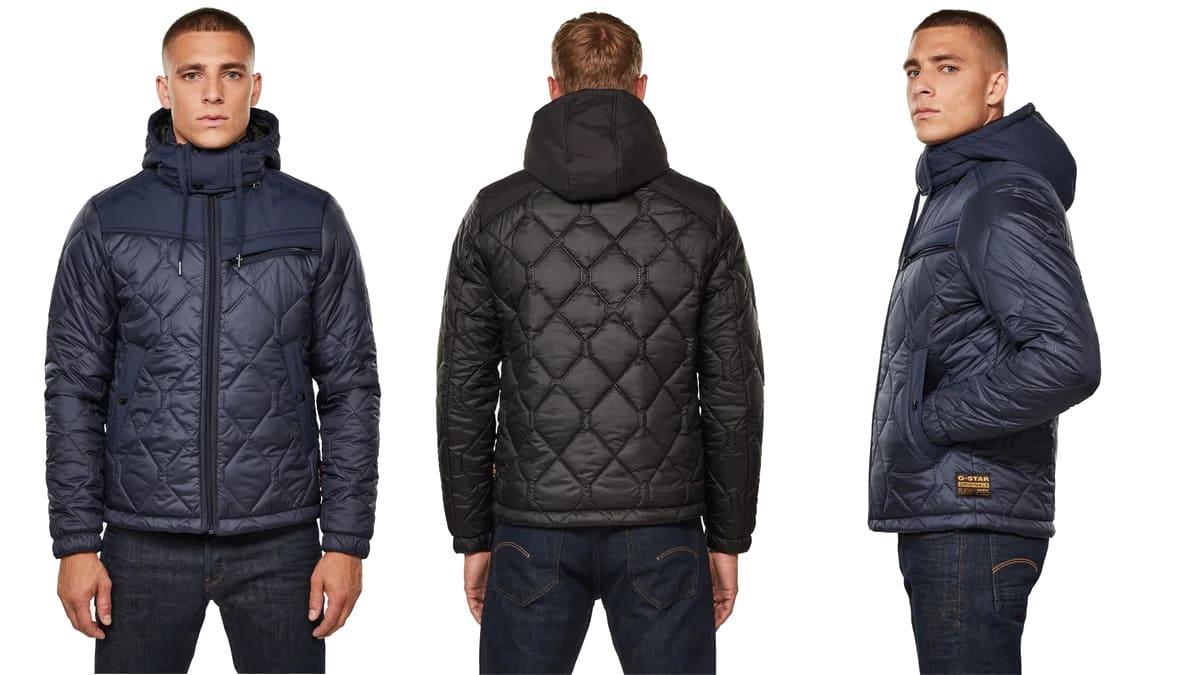 Chaqueta G-STAR RAW Attacc Heatseal barata, ropa de marca barata, ofertas en chaquetas chollo1