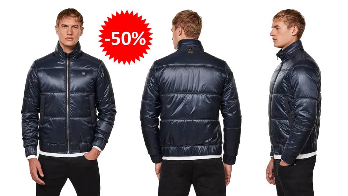 Chaqueta G-Star Raw Meefic Quilted barata, ropa de marca barata, ofertas en chaquetas chollo
