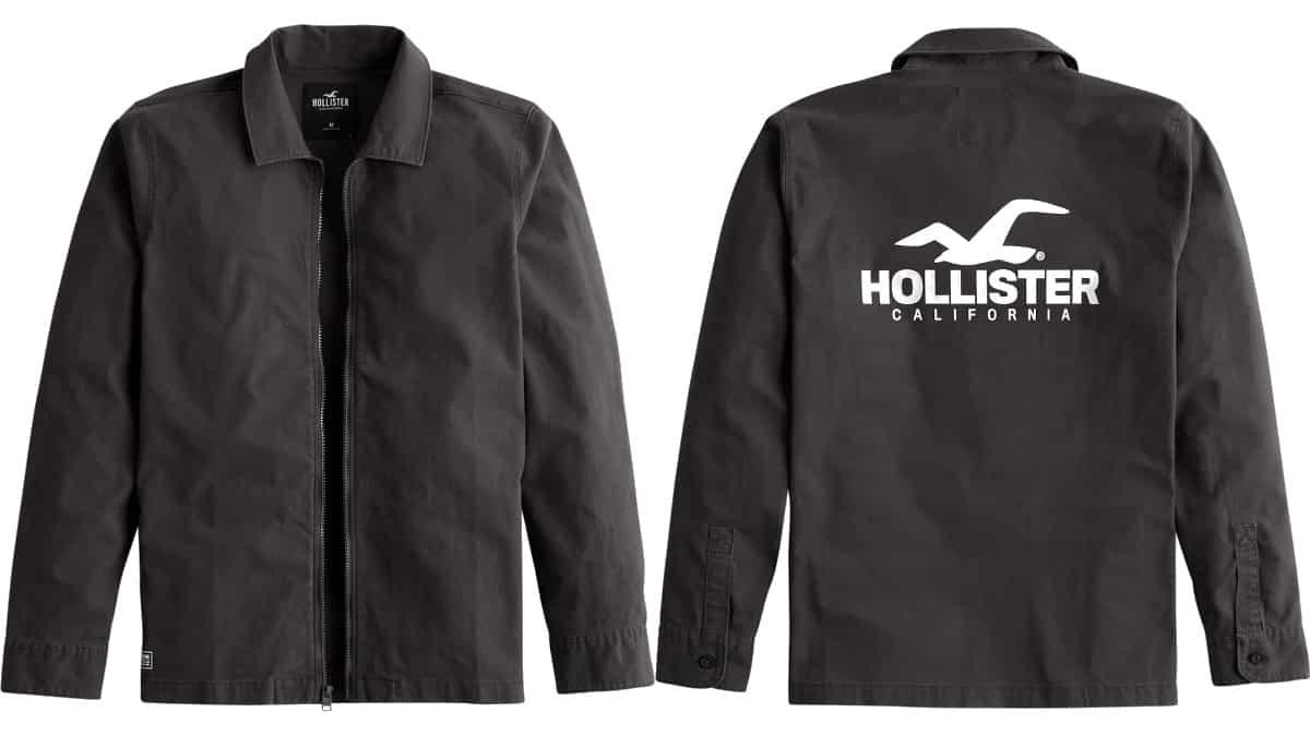Chaqueta Hollister barata, ropa de marca barata, ofertas en chaquetas chollo