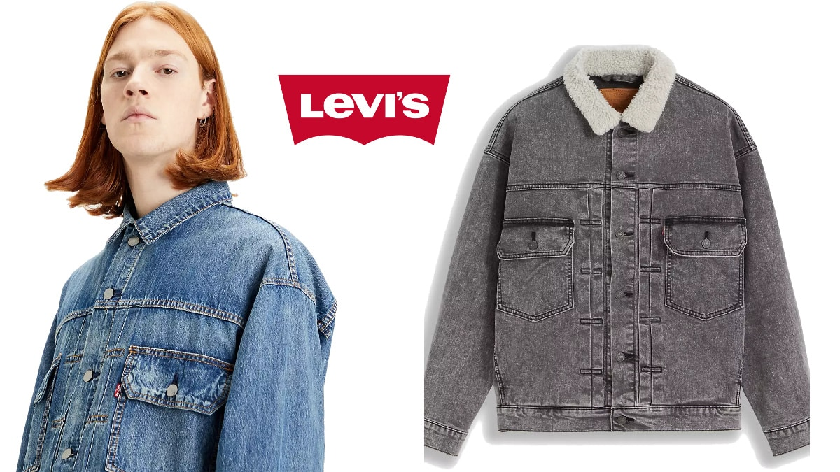 Chaqueta Levi's Modern Type II barata, ropa de marca barata, ofertas en chaquetas chollo
