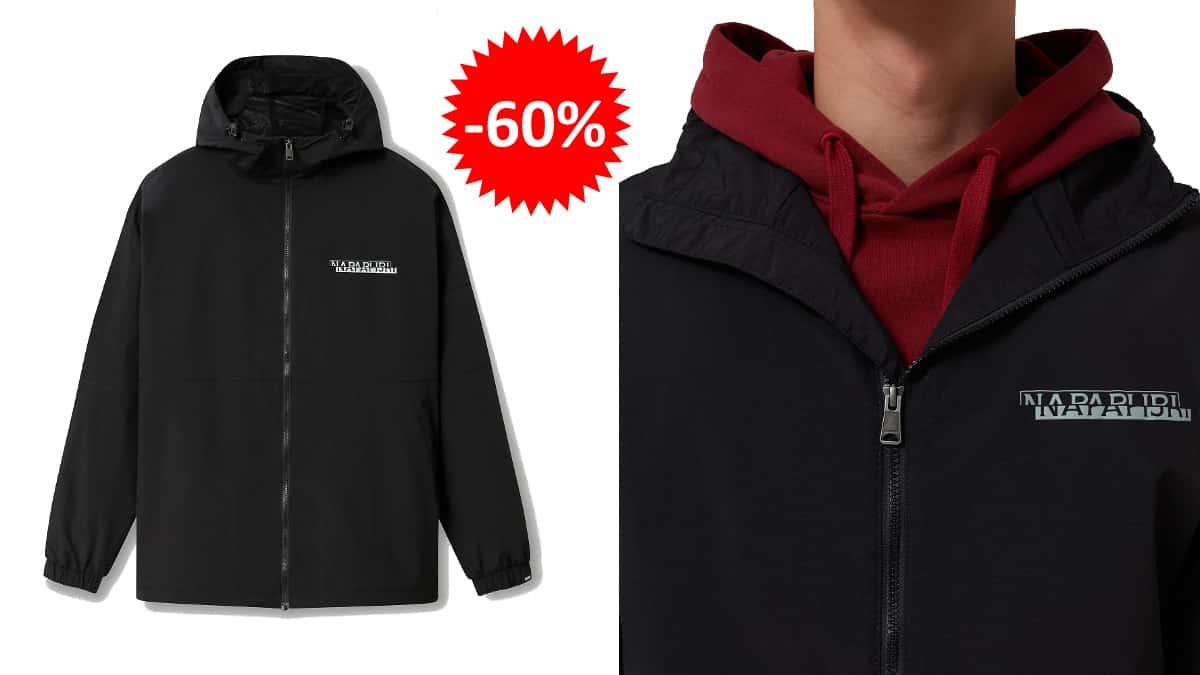 Chaqueta Napapijri Algo barata, ropa de marca barata, ofertas en chaquetas chollo