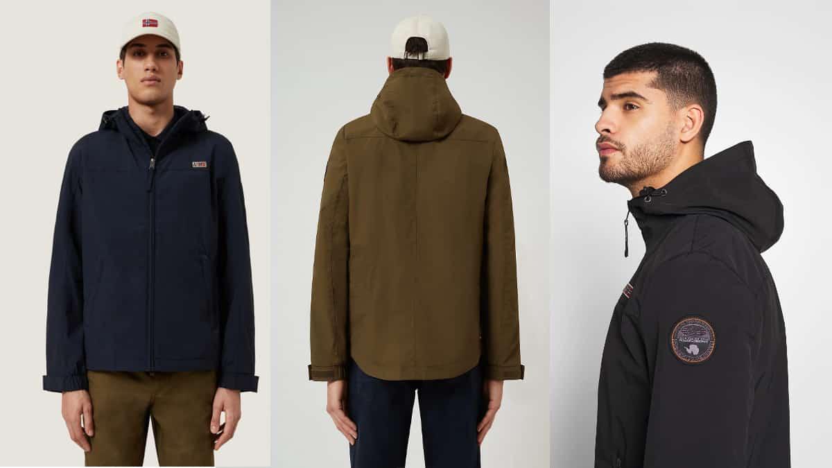 Chaqueta Napapijri Shelter barata, ropa de marca barata, ofertas en chaquetas chollo