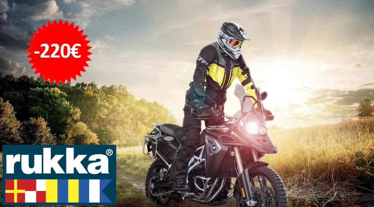 Chaqueta Rukka R.O.R. barata, ofertas en chaquetas de moto, chaquetas de moto baratas, chollo