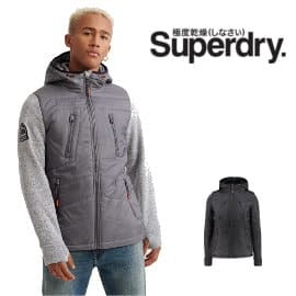 Chaqueta Superdry Storm Hybrid barata, cazadora de marca barata, ofertas en ropa