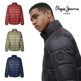 Chaqueta acolchada Pepe Jeans Coleridge barata, ropa de marca barata, ofertas en chaquetas