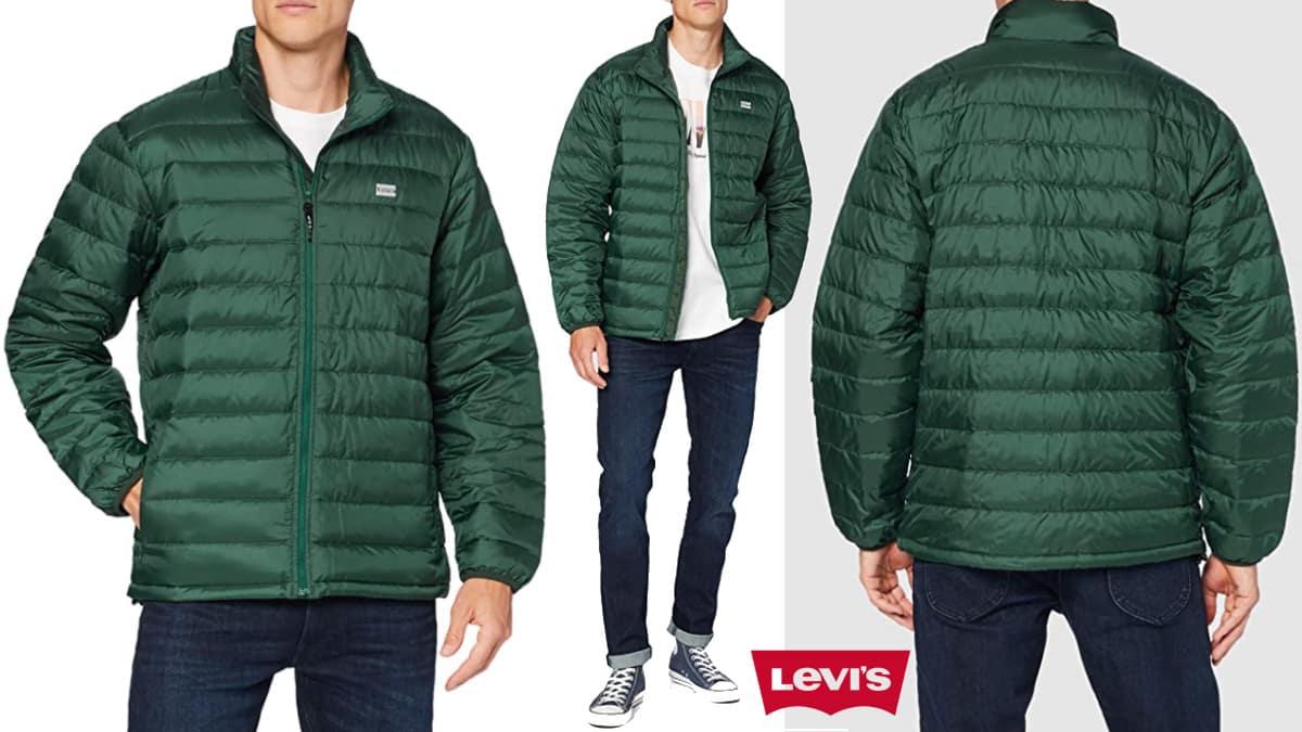 Chaqueta para hombre Levi's Presidio barata, cazadoras de mnarca baratas, ofertas en ropa de marca, chollo