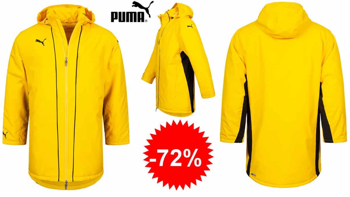 Chaquetón estilo entrenador PUMA V1.08 barato, chaquetas de marca baratas, ofertas en ropa de marca para hombre, chollo