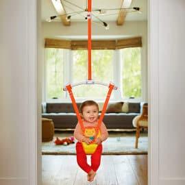 Columpio saltador Munchkin barato, juguetes baratos, ofertas para bebés