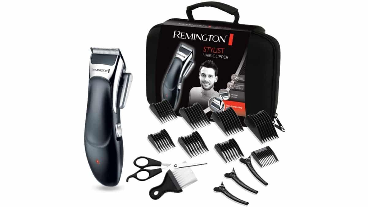 Cortapelos Remington Stylist HC363C barato, máquina de cortar el pelo de marca barata, ofertas belleza, chollo
