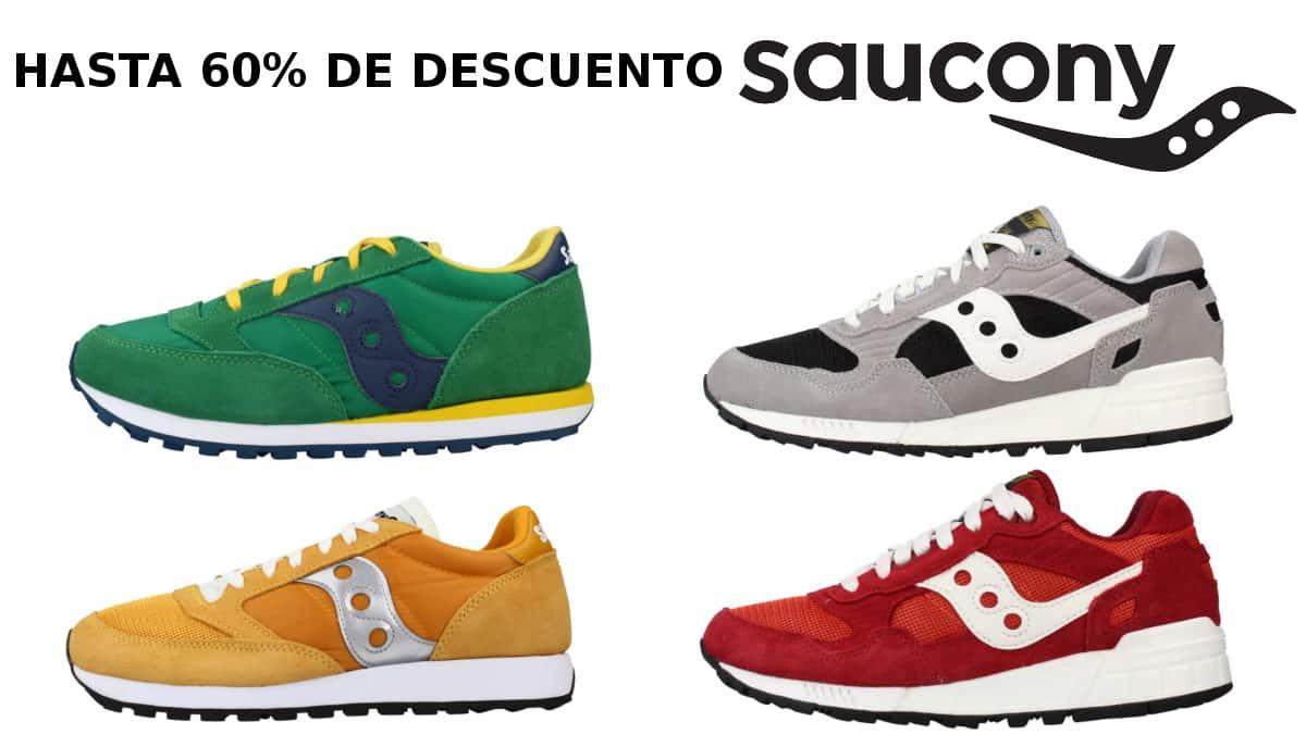 Cupón descuento Saucony Zacaris, calzado de marca barato, ofertas en zapatillas chollo