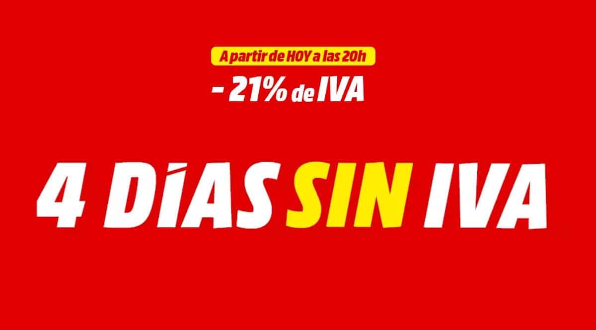 Días Sin IVA MediaMarkt, chollo