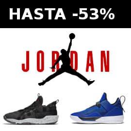 Descuento zapatillas Nike Jordan, calzado de marca barato, ofertas en zapatillas
