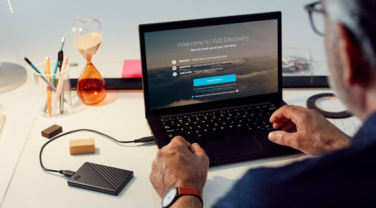 Disco externo portátil WD My Passport 2TB barato. Ofertas en discos duros portátiles, discos duros portátiles baratos, chollo