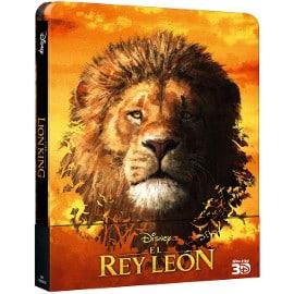 El Rey León (2019) 3D (incluye Blu-ray 2D) edición Steelbook barata, películas baratas