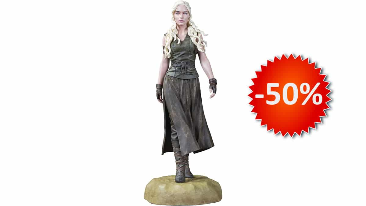 Figura Dark Horse Daenerys Targaryen 20cm barata, figuras baratas, chollo