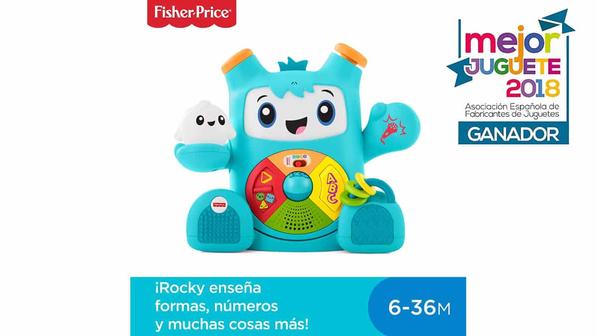 Fisher Price Rocky Roquero barato, juguetes baratos, chollo