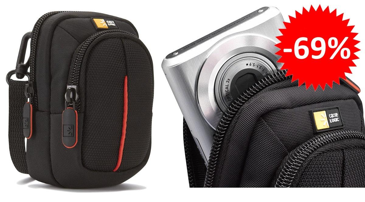 ¡¡Chollo!! Funda para cámara digital compacta Case Logic sólo 4.67 euros. 69% de descuento.