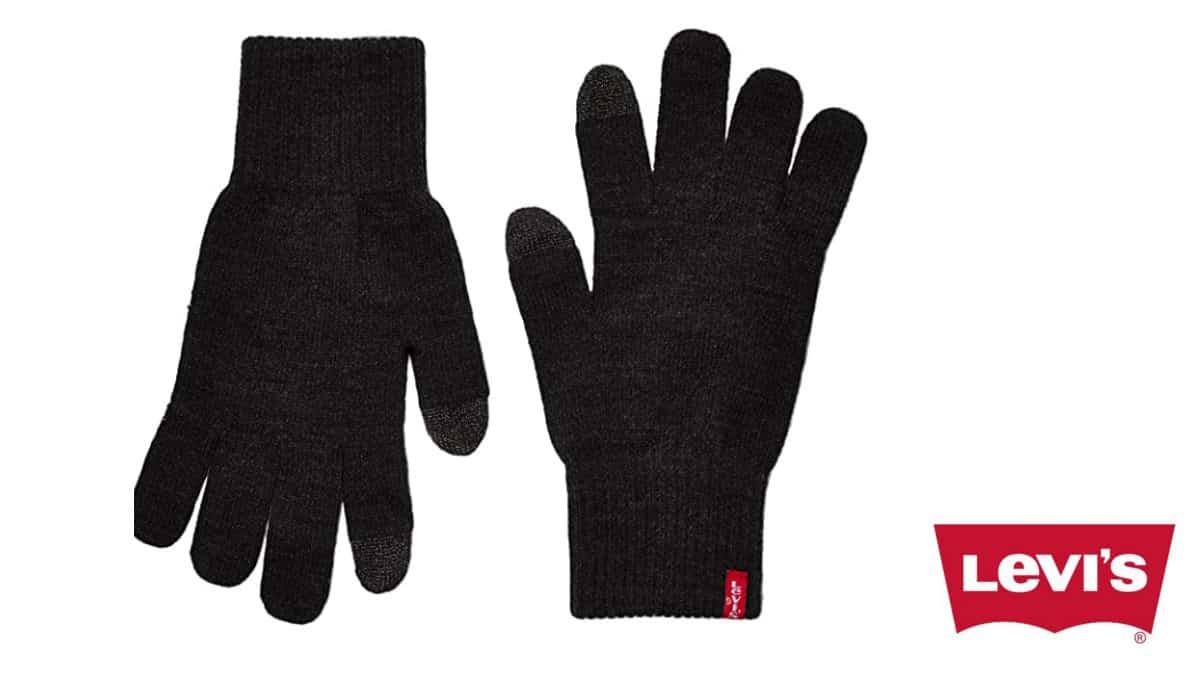 Guantes Levi's Ben Touch Screen baratos, guantes de marca baratos, ofertas en ropa, chollo