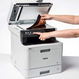 Impresora multifunción láser color profesional Brother DCP-L8410CDW barata, impresoras baratas