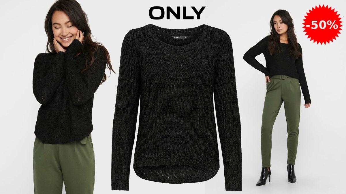 Jersey de punto ONLY Damen ONLGEENA barato, ropa de marca barata, ofertas en ropa de marca, chollo
