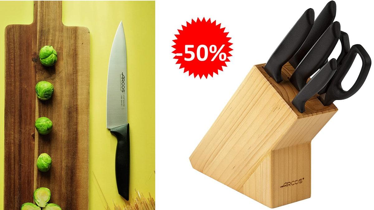 Juego-de-cuchillos-Arcos-Niza-baratos-cuchillos-de-marca-baratos-ofertas-cocina-chollo