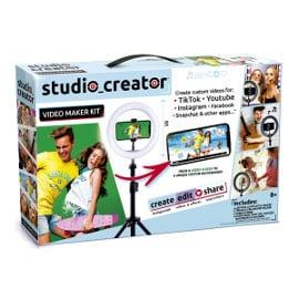 Kit estudio de creación para Tiktok, Youtube o Instagram barato, estudios de creación para RRSS baratos