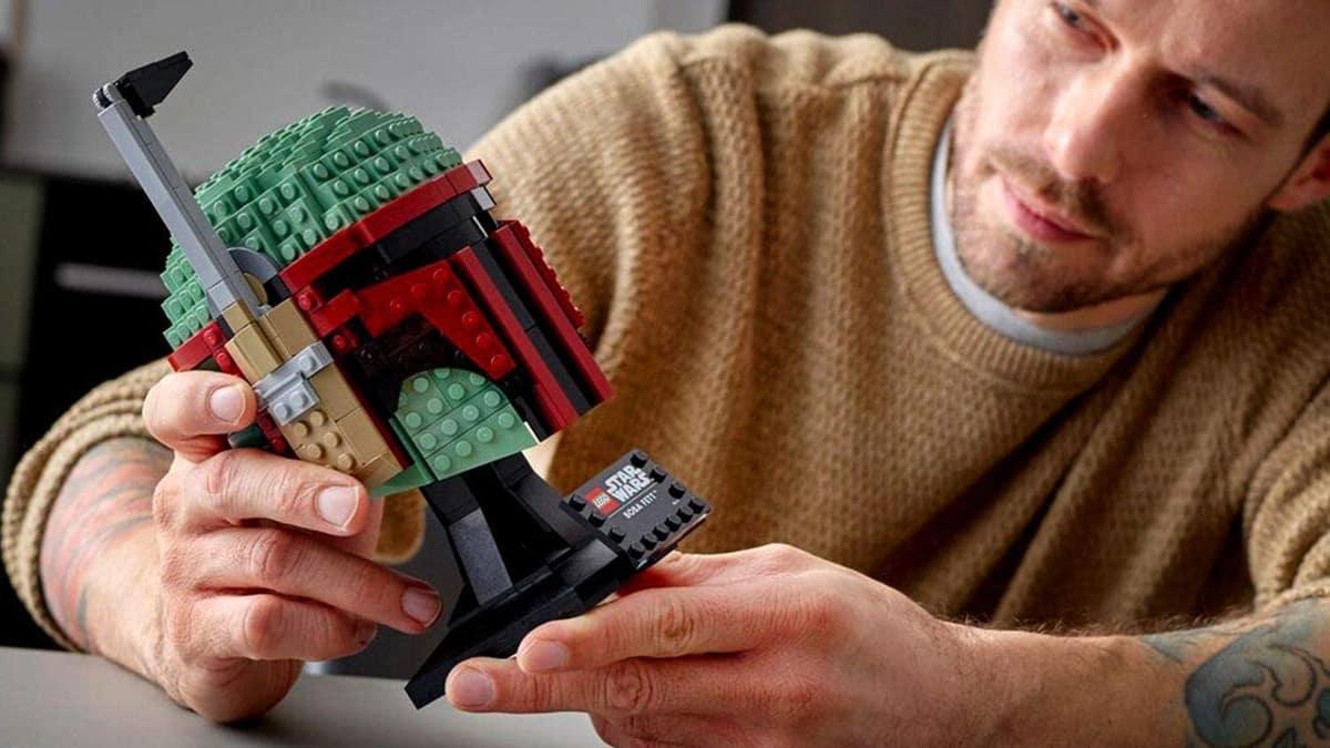 LEGO Star Wars Casco de Boba Fett barato, LEGO baratos, juguetes baratos, chollo
