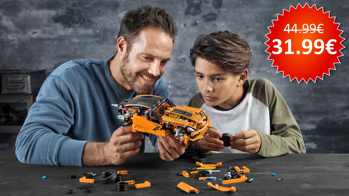 LEGO Technic Chevrolet Corvette ZR1 barato, LEGO baratos, chollo